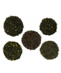 Zielone herbaty smakowe