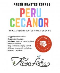 Peru G1 Cecanor Café Femenino