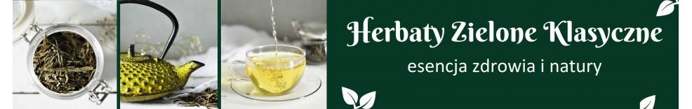 Herbaty Zielone Klasyczne, Dragon Pearls, Gyokuro, Longjing - Kraków, sklep internetowy - Warsztat Herbaty