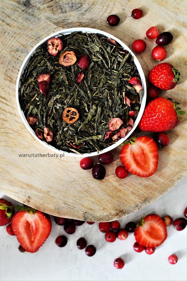zielona herbata żurawina truskawka 1.jp